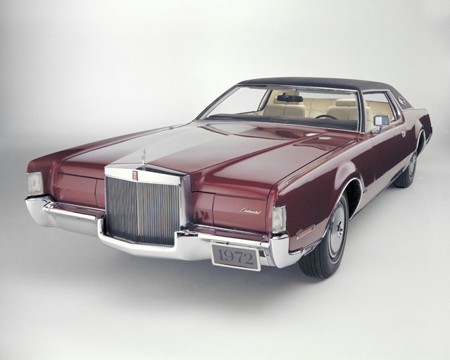This undated photo provided by the Ford Motor Co. shows the 1972 Lincoln Continental Mark IV. (Photo by AP Photo/Ford Motor Co.)
