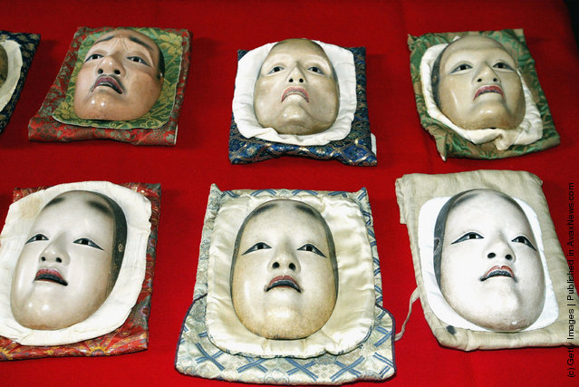 Noh masks
