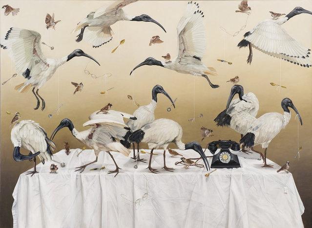 Paintings By Kate Bergin