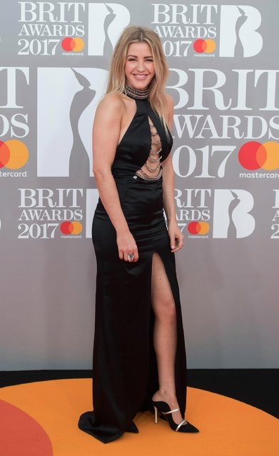 Ellie Goulding attends The BRIT Awards 2017 at The O2 Arena on February 22, 2017 in London, England. (Photo by Samir Hussein/Samir Hussein/Redferns)
