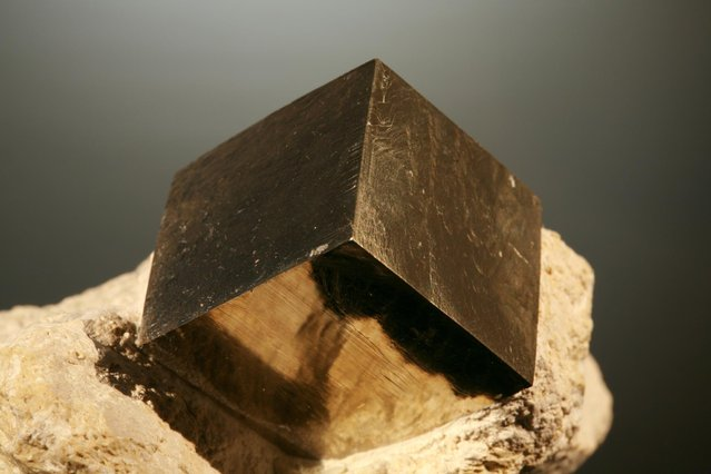 Pyrite Cubic Crystals
