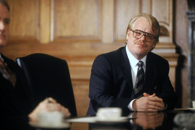 """""""Owning Mahowny"""", Philip Seymour Hoffman, 2003. (Photo by Sony Pictures Classics/Everett Collection)"""