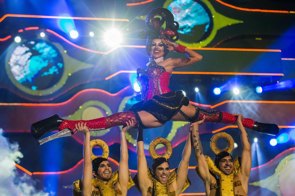 Drag Queen Competition in Las Palmas