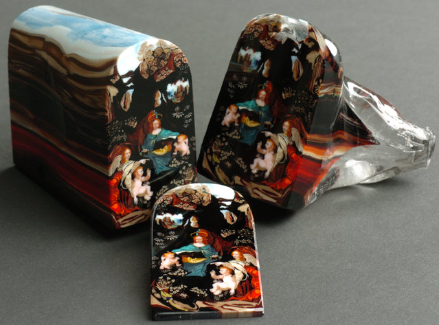 Glass Paintings By Loren Stump