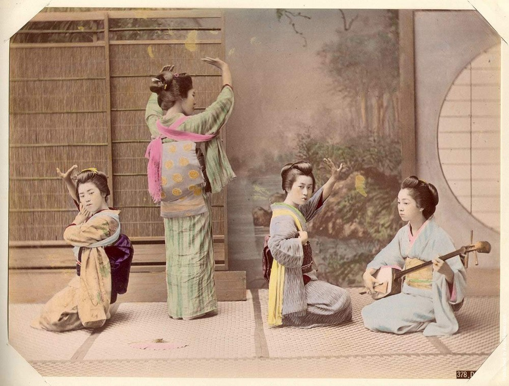 Japanese 130 Years Ago, Part II. Photos by Kusakabe Kimbei