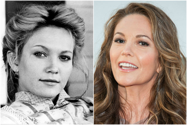 Diane Lane in 1989 and today . (Photo by Everett Collection/Getty Images)