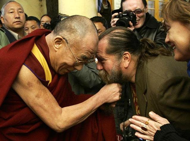 Dalai Lama and Phil Void
