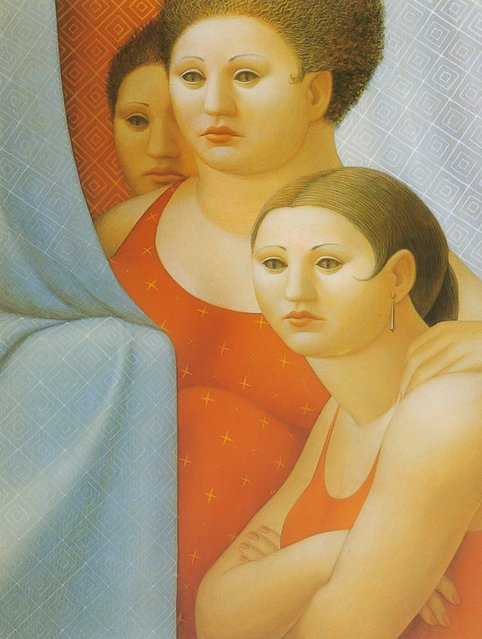 Three Women. Artwork by George Tooker