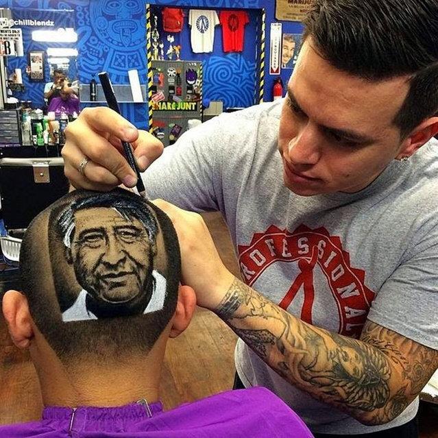 Realistic Hair Art By Roberto Perez Part 2