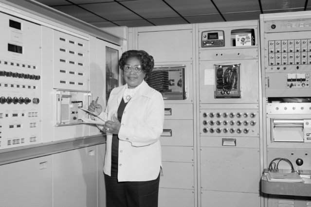 This 1977 photo made available by NASA shows engineer Mary W. Jackson at NASA's Langley Research Center in Hampton, Va. On Wednesday, June 24, 2020, NASA Administrator Jim Bridenstine announced the agency's headquarters building in Washington, D.C., will be named after Jackson, the first African American female engineer at the space agency. (Photo by Robert Nye/NASA via AP Photo)