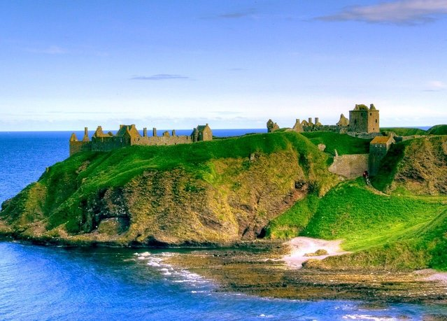 Dunnottar Castle In Scottish