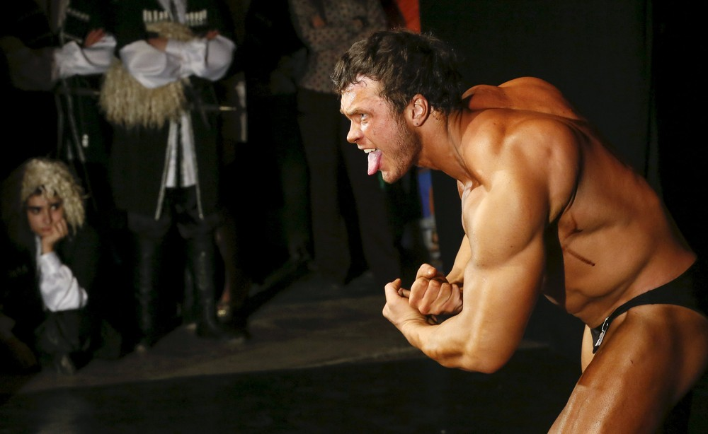 Bodybuilding and Fitness Championship in Russia