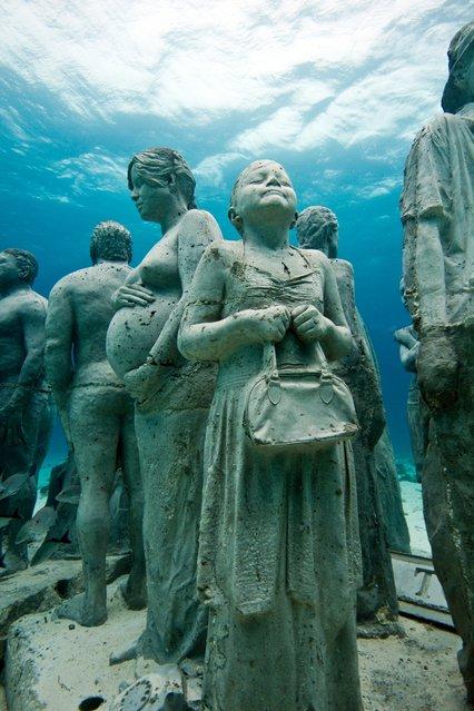 Underwater Sculpture, The Silent Evolution