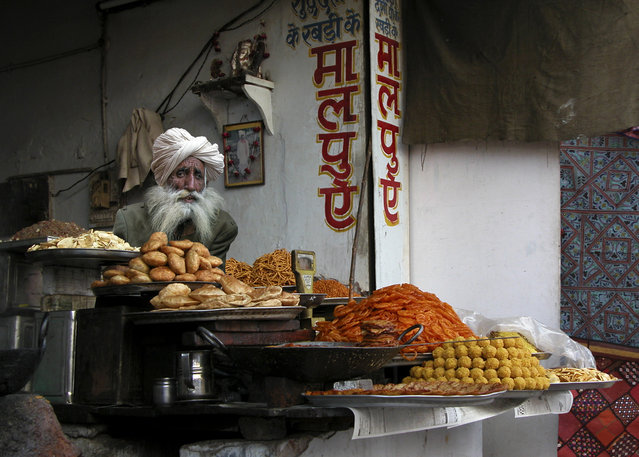 """Fast Food - Pushkar"". (Photo by Michael Sheridan)"
