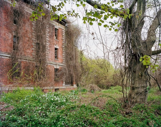 Nurse's Home, North Brother Island, New York. (Photo by Christopher Payne)