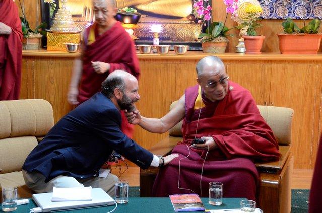 Jonathan Patz Meets with the Dalai Lama