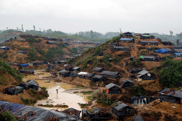 A Rohingya refugee camp in Cox's Bazar, Bangladesh, September 19, 2017. (Photo by Cathal McNaughton/Reuters)