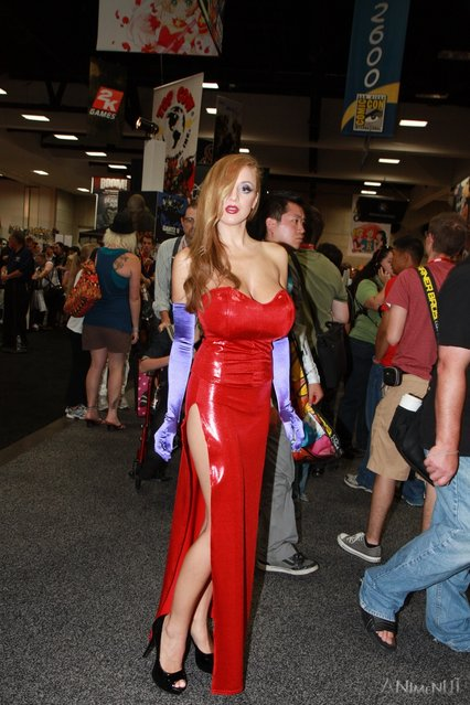 Jessica Rabbit (Who Framed Roger Rabbit). San Diego Comic-Con 2011. (Photo by Alan)