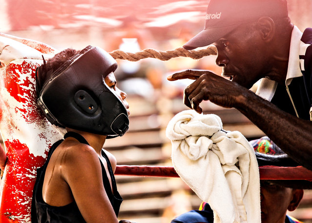 """""""Stay Strong"""". Taken on a recent trip to Cuba at the Rafael Trejo Boxing Gymnasium. Location: Havana, Cuba. (Photo and caption by Denise Catuogno/National Geographic Traveler Photo Contest)"""