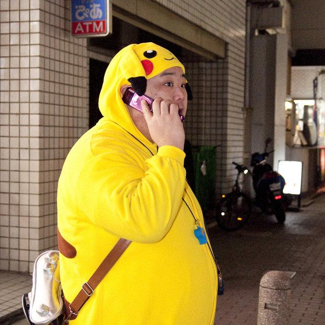 """The Pikachu Call"". Akasaka, 2012. (Davide Filippini)"
