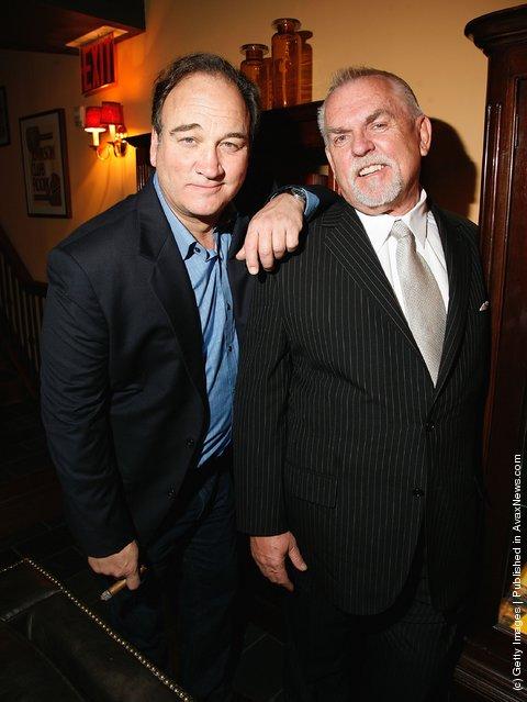 Jim Belushi and John Ratzenberger