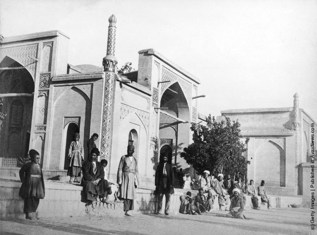 The city of Shiraz in Iran, capital of Fars province, circa 1910