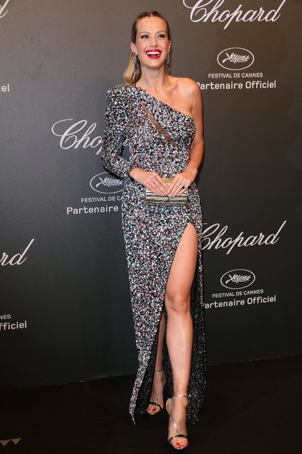 "Petra Nemcova attends the Chopard ""SPACE Party"", hosted by Chopard's co-president Caroline Scheufele and Rihanna, at Port Canto on May 19, 2017, in Cannes, France. (Photo by Gisela Schober/WireImage)"