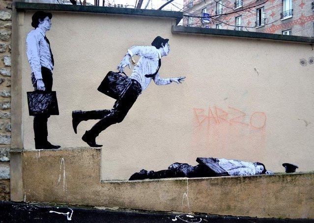 Street Art By Parisian Artist Levalet