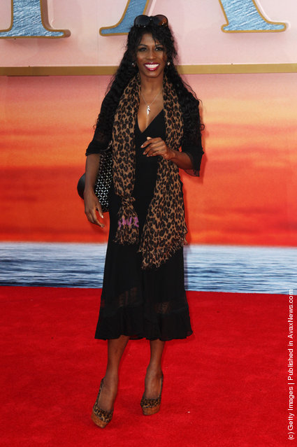 Sinitta attends the world premiere of Titanic 3D at The Royal Albert Hall