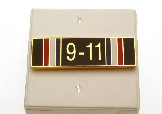 This service pin was awarded to the Agency's Security Protective Service (SPS) officers who served during the period of heightened alert between 11 September 2001 and 24 March 2002 in recognition of their extraordinary level of commitment and meritorious service. (Photo by Central Intelligence Agency)