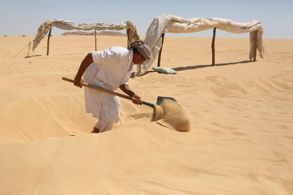 The Hot Sand Baths of Siwa