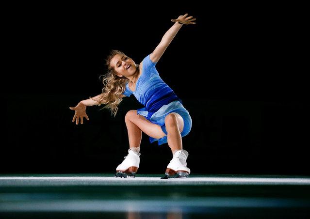 Figure Skating, ISU Grand Prix Rostelecom Cup 2016/2017, Exhibition Gala, Moscow, Russia on November 6, 2016. Elena Radionova of Russia performs. (Photo by Maxim Shemetov/Reuters)