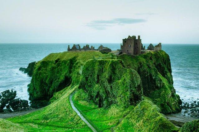Dunnottar Castle In Scottish
