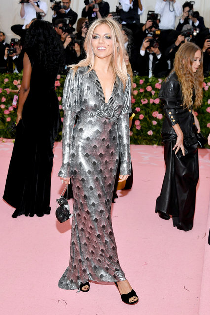 Sienna Miller attends The 2019 Met Gala Celebrating Camp: Notes on Fashion at Metropolitan Museum of Art on May 06, 2019 in New York City. (Photo by Dia Dipasupil/FilmMagic)