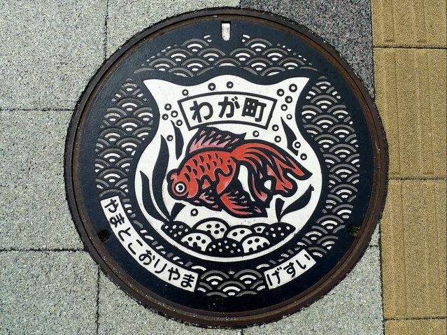 Japanese Manhole Covers Photos By S. Morita Part 1