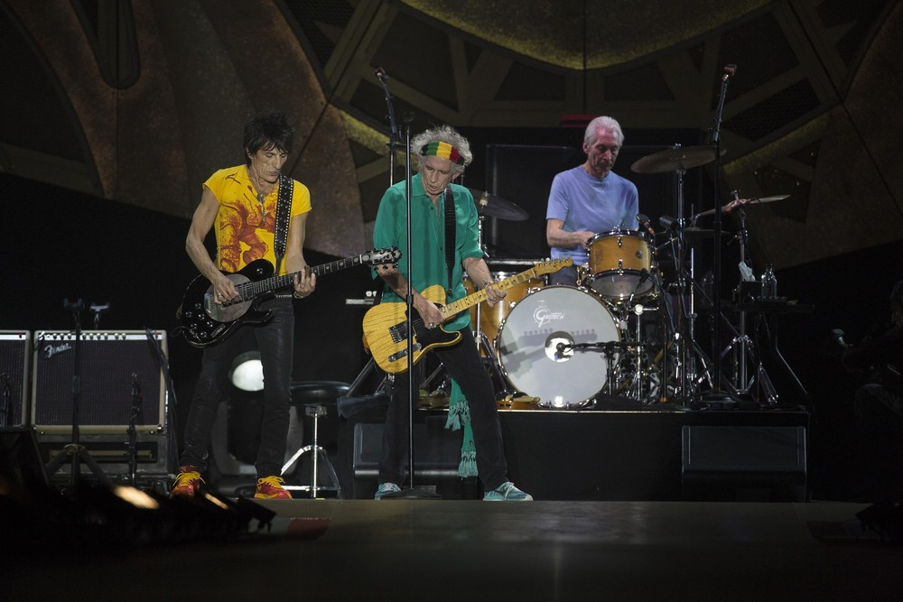 """Rolling Stones on Tour  """"14 on Fire"""""""