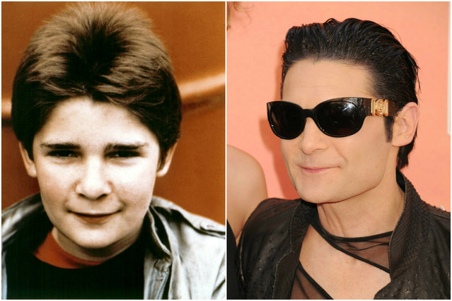 """Cory Feldman almost got fired from """"The Lost Boys"""" for being high as a kite on cocaine on set. Once he was in rehab in 1991, he tried heroin for the first time with Dave Navarro and Perry Farrell. That's not how rehab is supposed to work. (Photo by Getty Images/Everett Collection)"""