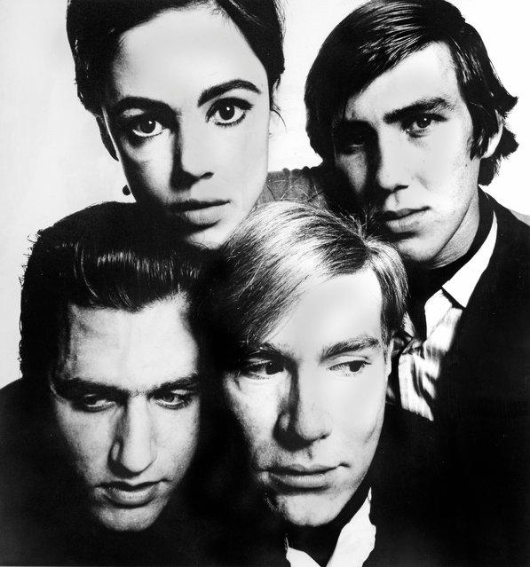 Andy Warhol and the Gang, 1965, by David Bailey. (Photo by David Bailey/Beetles+Huxley & Osborne Samuel)