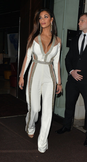 Nicole Scherzinger out and about in London, UK on November 6, 2016. (Photo by Gotcha Images/Splash News)