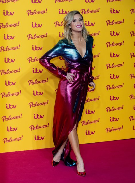 Ashley Roberts attends the ITV Palooza! held at The Royal Festival Hall on October 16, 2018 in London, England. (Photo by Splash News and Pictures)
