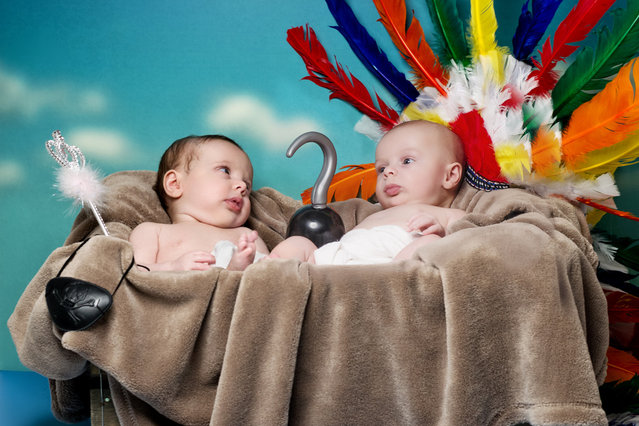 Babies Recreate Famous Books