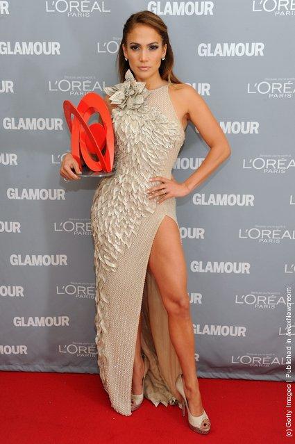 Women of the Year award winner Jennifer Lopez attends Glamour's 2011 Women of the Year Awards