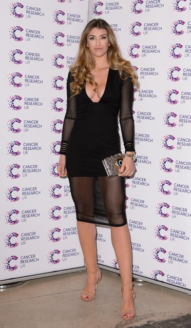 Amy Willerton attends James Ingham's Jog-On to Cancer part 5 at Kensington Roof Gardens on April 12, 2017 in London, England. (Photo by Beretta/Sims/Rex Features/Shutterstock)