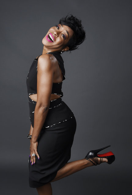 "Tichina Arnold, a cast member in the television series ""Survivor's Remorse"", poses for a portrait during the 2015 Television Critics Association Summer Press Tour at the Beverly Hilton on Friday, July 31, 2015, in Beverly Hills, Calif. (Photo by Chris Pizzello/Invision/AP Photo)"