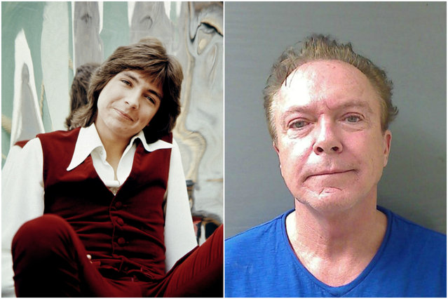 "David Cassidy was a superstar at 19 with the success of ""The Partridge Family"". In 2014, he became a three-time DUI offender. (Photo by Getty Images/Everett Collection)"