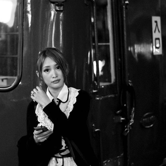 Shibuya, 2012. Before the last train. (Davide Filippini)