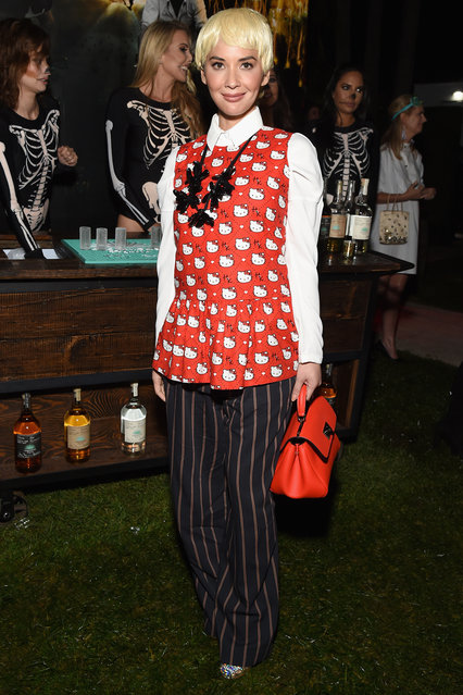 Olivia Munn attends the Casamigos Halloween Party on October 26, 2018 in Beverly Hills, California. (Photo by Michael Kovac/Getty Images for Casamigos)