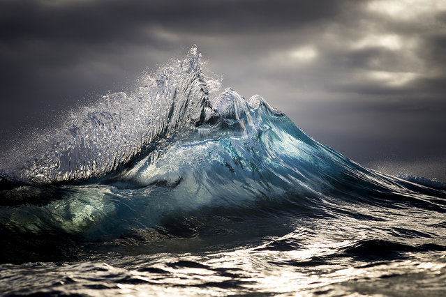 "He is still driven to capture the water, saying he aims to ""freeze"" the relationship between water and light. (Photo by Ray Collins)"