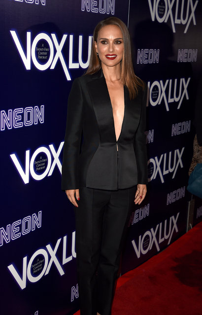 "Natalie Portman attends premiere of Neon's ""Vox Lux"" at ArcLight Hollywood on December 05, 2018 in Hollywood, California. (Photo by Kevin Winter/Getty Images)"