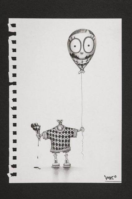 Beautiful Drawings By Pierre Yves Riveau